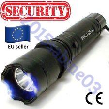 Electric Shocker Self-defense Electro LED Flashlight Torch Stun Gun