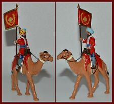 """Trophy of Wales The Raj & Indian Army """"Flag Bearer Mounted on Camel"""""""