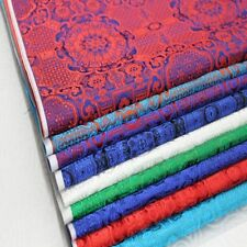 Brocade Fabric Damask Tapestry Cloth Mongolian Robe Satin Material 73*100cm New