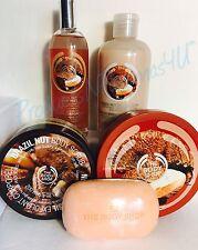 The Body Shop BRAZIL NUT~5 Piece~GIFT SET Someone SPECIAL will LOVE BRAZIL NUT!