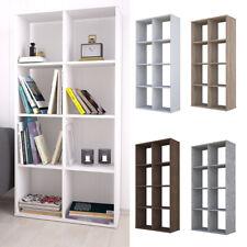 Polini Home Raumteiler Bücherregal  Regal weiß 8 Fächer