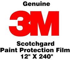 "Genuine 3M Scotchgard Paint Protection Film Clear Bra Bulk Roll Film 12'' x 240"""