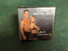 Journey gym G.R.I.T. Ultimate 10 Exercise Dvd Set