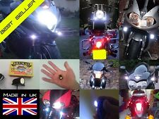 Motorcycle LED Running Light Kit - White Light
