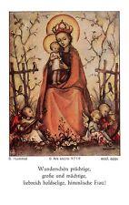 """Fleißbildchen Heiligenbild Gebetbild """" Hummel """" Holy card Ars sacra"""" H637"""""""