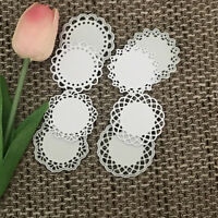 Round lace Design Metal Cutting Die For DIY Scrapbooking Album Paper Card HIC LL