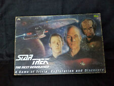 VINTAGE STAR TREK THE NEXT GENERATION  BOARD GAME - 1993 CLASSIC GAMES