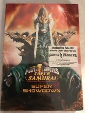 POWER RANGERS SUPER SAMURAI, VOL. 2: SUPER SHOWDOWN NEW DVD