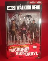 The Walking Dead Limited Edition Heroes 3 Pack Michonne, Rick and Daryl McFarlan