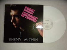 "LP CHRIS SPEDDING ""Enemy within"" WHITE LP - DATE RECORDS DALP 4.00140J GERMANY µ"