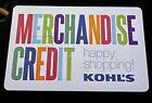 Kohl's Merchandise Credit Balance $86.57 in store online