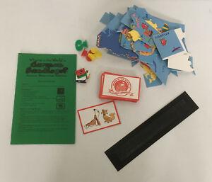 carmen sandiego junior detective edition board game pieces