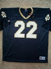 *IRREGULAR* Notre Dame Irish #22 ncaa Football Jersey Adult MENS/MEN'S (xl-48)
