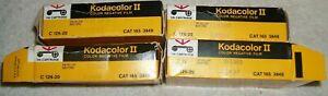 Vintage NEW Kodak C 126-20 Kodacolor II Film Lot Of 4