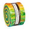 Kaufman Batik Rollup Jelly Roll, SUMMER ZEST,  RU-922-40