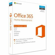 Microsoft Office 365 Home FPP Software (6GQ-00674)