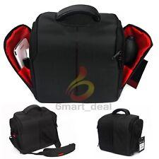 SLR DSLR Nylon Lens Camera Bag Carry Case for Nikon Canon EOS Sony Olympus Cover