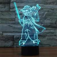 Yoda 3D Illusion Lamp