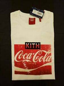 Kith X coca cola Vintage Tee - Size XL - KH3857-101- AUTHENTIC - SHIPS NEXT DAY
