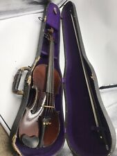 Vintage Violin Late 1800 With Great Prominence and one piece back. Vibrant Sound