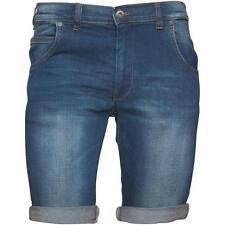 Men's Cotton Denim Shorts without Pattern