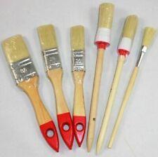 6-tlg. Flachpinsel-Set, Streichen, Farben, Malern, Lacke, Pinsel,