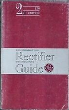 1962 GENERAL ELECTRIC RECTIFIER GUIDE