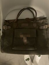 Barbour Waxed Bag Vintage