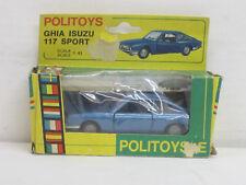 Ghia Isuzu 117 Sport in blaumetallic, OVP, Politoys 544, 1:43