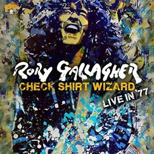 RORY GALLAGHER CHECK SHIRT WIZARD LIVE IN '77 2 CD (Released 6/03/2020)