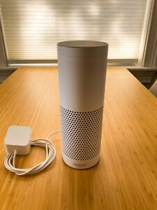 Amazon Echo - White, includes Alexa assistant