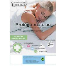 Protège Matelas Imperméable - Hygiènique - pour Matelas de 13 à 35 cm de Hauteur