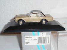 Minichamps 1/43MERCEDES 280 SL pagode gold N° 340 de 450 vendu