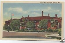 WHITING INDIANA WHITING COMMUNITY CENTER POSTCARD