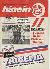 BL 87/88  1. FC Kaiserslautern - Borussia Dortmund