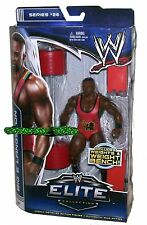 WWE WRESTLING ELITE SERIES 26 BIG E LANGSTON WITH WEIGHTS & WEIGHT BENCH