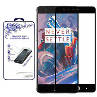 For OnePlus 3T Ballistic Tempered Glass Screen Protector [Black]