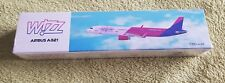 Wizzair Airbus A321 Premier Portfolio 1:200 Scale Plastic Snap Fit Model