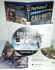 CALL OF DUTY FINEST HOUR THE - Playstation 2 Ps2 Play Station Bambini Gioco Game