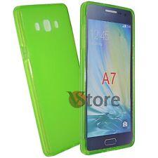 Cover Custodia Per SAMSUNG Galaxy A7 A700 Gel Silicone TPU piu Pellicola