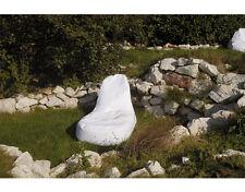 Chillout Pouf Sac assise Salon, Blanc, 400L