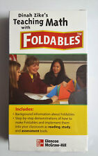 Dinah Zike's Teaching Math with Foldables VHS for teachers kids educational NEW