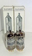2 NOS NIB tubes <> Telefunken E88CC 6922 (CCa 7308 E188CC)    (702012)