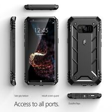 Poetic Revolution Series [Heavy Duty ] Rugged Protection Case For Galaxy S8 BLK