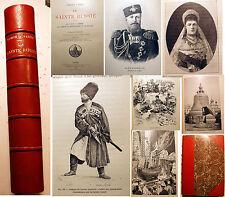 RUSSIE/LA SAINTE../COMTE PAUL VASILI/ED FIRMIN DIDOT/1890/200 GRAVURES/TSARISME
