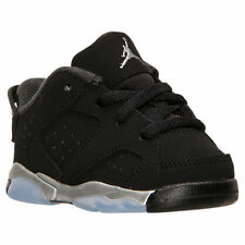 "AIR JORDAN 6 RETRO LOW ""CHROME"" TODDLERS US SIZE 7C STYLE# 768883-003"