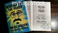 SIGNED Waiting for the Punch by Marc Maron, Hardcover, new, autographed