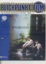 Blickpunkt Film Nr. 14 1995 20. Jahrgang William Hurt Probezeit Kurt Beck