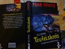Teufelskreis Es gibt kein Entkommen... von R. L. Stine Fear Street Buch gebr.