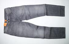 NEU - Hugo Boss Orange 63 - Denim Grau - Slim Straight Fit - Herren Jeans